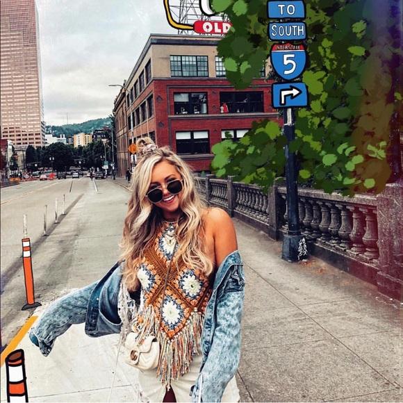 wholesale outlet first look online retailer Free People Tops   Summer Of Love Halter Crochet Top   Poshmark